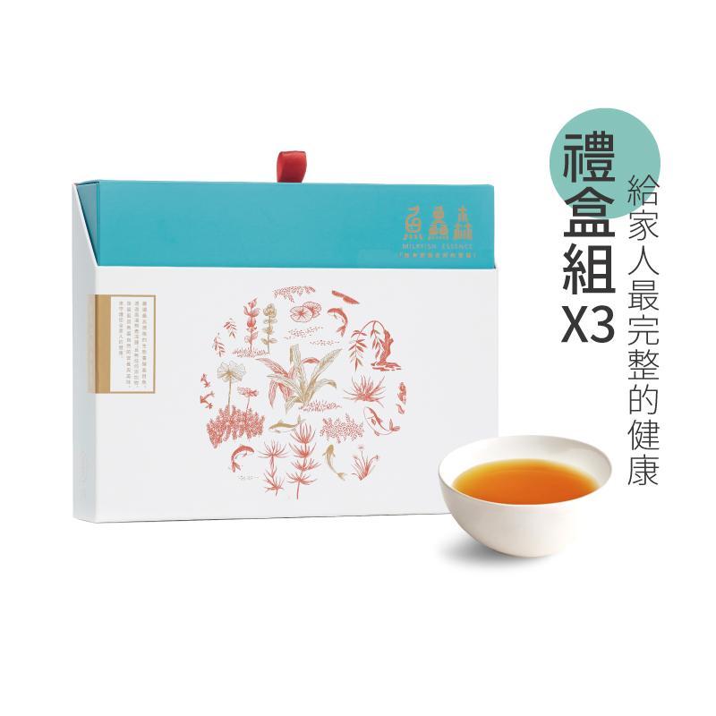 虱目魚精禮盒三盒組
