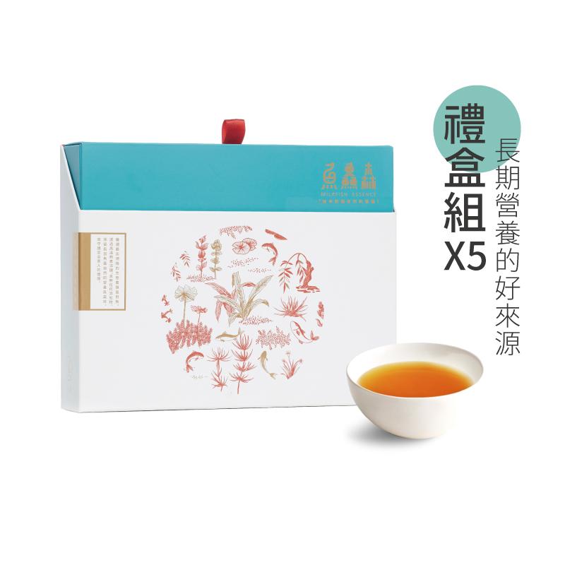虱目魚精禮盒五盒組